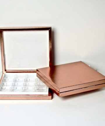 Schokobox 16 er Rose gold